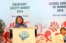 Comparte Vietnam experiencias en desarrollo de papel femenino en mundo