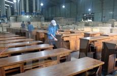 Artesanía del reciclaje de madera