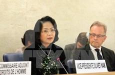 Vicepresidenta de Vietnam interviene en Consejo de Derechos Humanos en Suiza