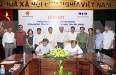 Fomentan cooperación en comunicación entre VNA y Bac Giang