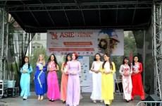 Impresionantes imágenes vietnamitas en festival de cultura asiática