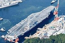 Portaaviones estadounidenses realizan ejercicio en aguas filipinas