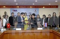 VNA coopera Departamento de Relaciones Públicas de Tailandia en sector comunicativo