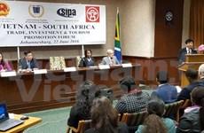 Efectúan foro de promoción comercial y turística Vietnam-Sudáfrica
