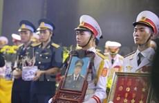 Funeral solemne en honor a nueve tripulantes de avión CASA-212