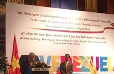 Celebran en Vietnam aniversario de la independencia de Venezuela