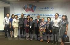 Reducen tasa de pobreza infantil en Vietnam, según informe de UNICEF