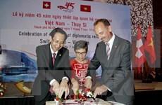 Celebran aniversario 45 de relaciones diplomáticas Vietnam – Suiza