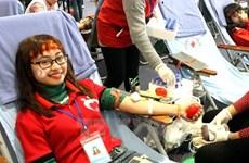 Continúa en Vietnam campaña de donación voluntaria de sangre