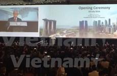 Líderes de ciudades del mundo se reúnen en cumbre mundial en Singapur