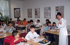 Intensifican enseñanza de idioma vietnamita a compatriotas en ultramar