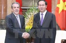Presidente vietnamita recibe a exmandatario chileno Eduardo Frei Ruiz – Tagle