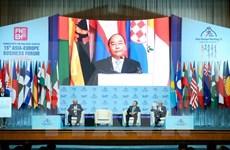 Premier vietnamita llama a respaldar a Pymes en Foro Empresarial Asia- Europa