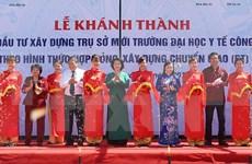 Inauguran en Hanoi nueva sede de Universidad de Salud Pública