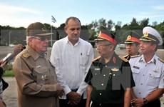 Viceministro de Defensa de Vietnam visita Cuba