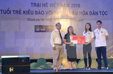 Clausuran Campamento Veraniego de Vietnam 2016 en Da Nang