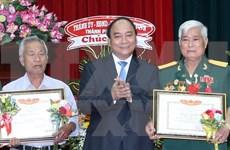 Premier vietnamita visita Zona Militar 9