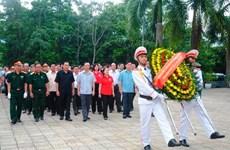 Rinden homenaje en Vietnam a mártires caídos por la independencia
