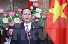 Presidente reitera política de defender intereses supremos de la nación