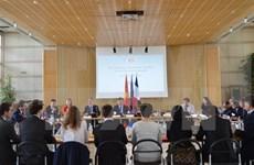 En París cuarto diálogo económico de alto nivel Vietnam – Francia