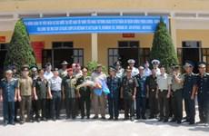 Agregados militares extranjeros visitan unidad antiaérea