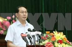 Presidente vietnamita dialoga con electores sobre situación socioeconómica