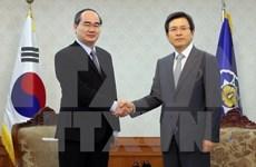 Vietnam propone ayuda de Sudcorea en formación de personal en tecnología informática
