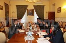 Visita de trabajo a Rusia de delegación de Partido Comunista de Vietnam