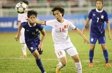 Buen comienzo de fútbol femenino de Vietnam en el Sub-16 Asia