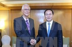Presidente de Vietnam concluye visita estatal a Singapur
