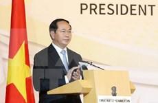 Vietnam da bienvenida a inversores singapurenses, afirma presidente