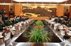 Acordaron Vietnam y China elevar eficiencia de cooperación en defensa
