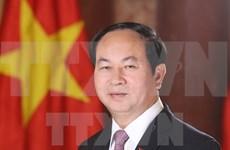 Presidente de Vietnam convoca a mantener la unidad nacional