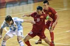 Vietnam pierde ante Argentina en fútbol sala