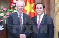 Presidente de Vietnam sugiere pronta ratificación por Canadá de TPP