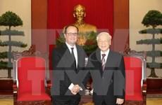 Vietnam y Francia se esfuerzan por profundizar asociación estratégica bilateral