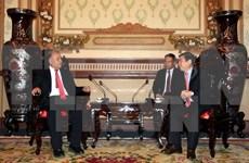 Delegación de Partido de Trabajo de México visita Ciudad Ho Chi Minh