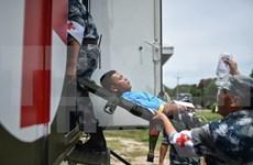ASEAN y contrapartes realizan ejercicio conjunto en ayuda humanitaria