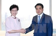 Hanoi y Hong Kong amplían sectores de cooperación