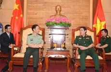 Visita Vietnam misión de comisión militar central de China