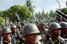 Myanmar realiza ejercicio militar