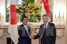Líderes de Japón y Singapur discuten asuntos de TPP y de Mar del Este