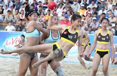 Vietnam mantiene su liderazgo en de los Juegos Asiáticos de Playa