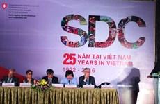 Suiza ayuda a Vietnam para lograr crecimiento económico sostenible