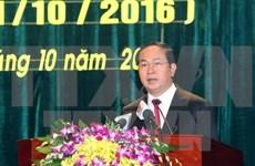 Presidente de Vietnam felicita a su homólogo por Día de la Unidad Alemana