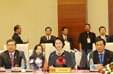 Parlamentos de ASEAN se comprometen a cooperar para resolver desafíos