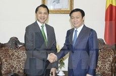 Vicepremier de Vietnam recibe a presidente de banco tailandés Kasikornbank