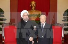 Partido Comunista de Vietnam concede importancia a relaciones tradicionales con Irán