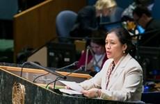 Vietnam llama a construir orden mundial de acuerdo con la ley internacional