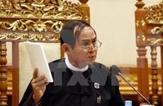 Sesiones parlamentarias de Myanmar se aplazan a noviembre próximo